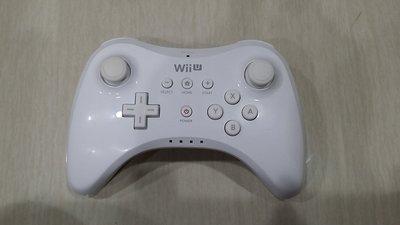 WII U 白色原廠專業版PRO無線手把控制器 無盒裝 直購價1150