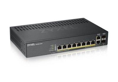 【全新含稅附發票】ZyXEL GS1920-8HP V2 智慧型網管交換器