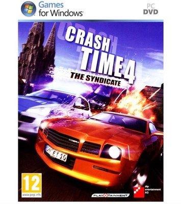 【傳說企業社】PCGAME-Crash Time 4: The Syndicate 狂飆時刻4(英文版)