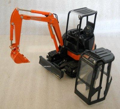 [丸山建機模型店]---絕版品 HITACHI ZX-35 1/30 怪手挖土機模型---金屬履帶