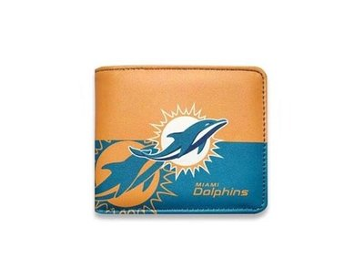 【Result】邁阿密海豚隊 Miami Dolphins 經典皮夾 Hiphop NFL