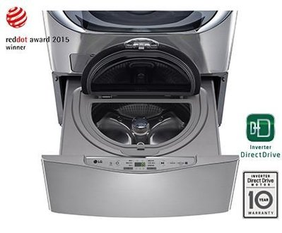 LG專家(上晟)DD直驅變頻迷你洗衣機 WT-D250HV (有問有便宜)可搭售WD-S18VCD.WD-S19TVC 台北市