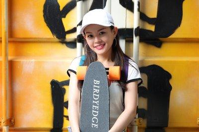 BIRDYEDGE SKATEBORAD MINI 迷你 電動滑板 攜帶型 電力控制 滑板車 木造 滑板LG