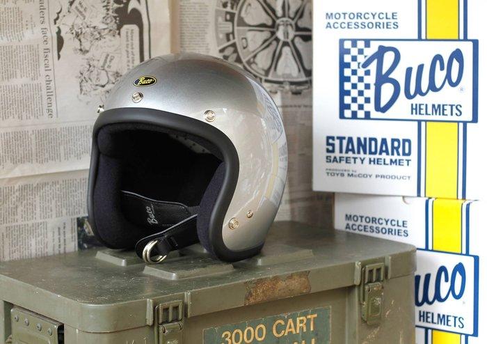 (I LOVE樂多)BUCO PLAIN 素色系列4/3復古安全帽(史上最悠久經典的安全帽品牌)
