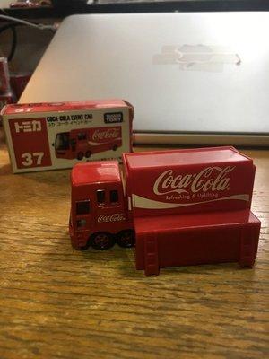 Tomica coca cola truck 37