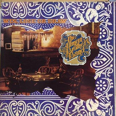 §小宋唱片§ 日版/The Allman Brothers Band-Win, Lose Or Draw/二手西洋黑膠