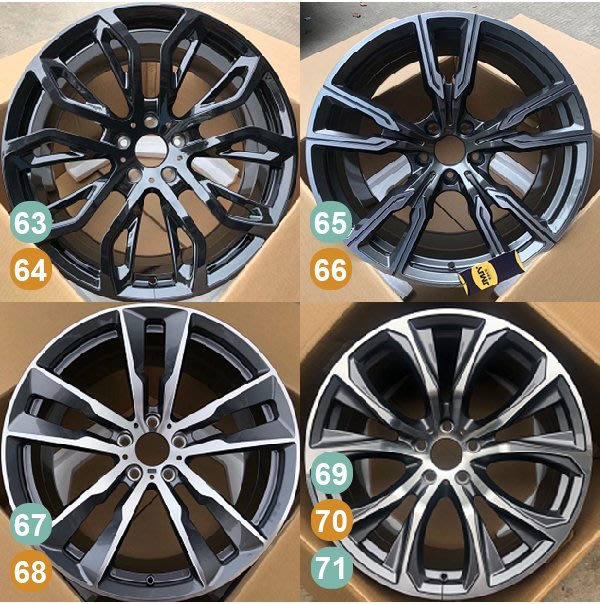 【SD祥登汽車】 For BMW 寶馬 20吋 鍛造鋁圈 71到87款 另有01款-87款可選擇