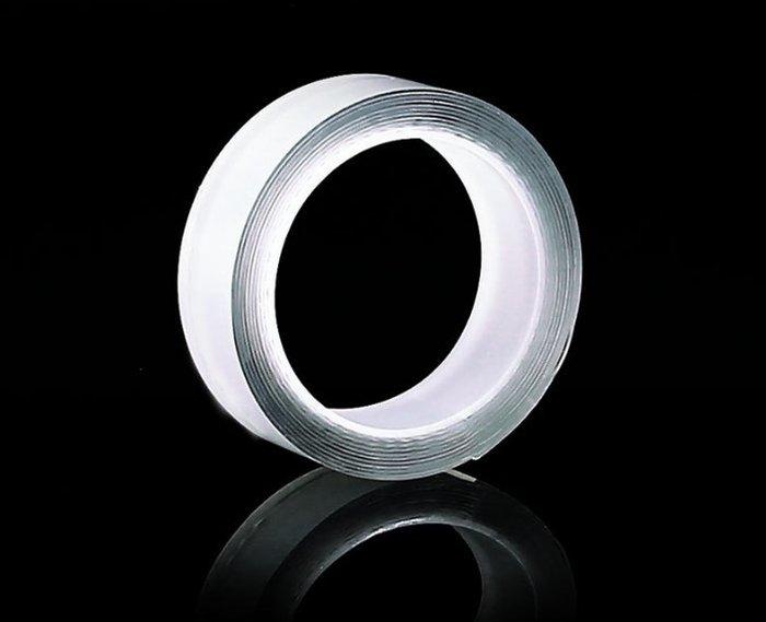 可水洗膠 無痕雙面膠帶 奈米魔力 高黏度壓克力膠 萬次強力雙面膠卷