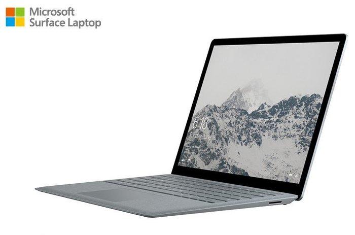 微軟Surface Laptop (i5/8G/256G)白金色送Office 365+防毒軟體NT$32000含稅免運