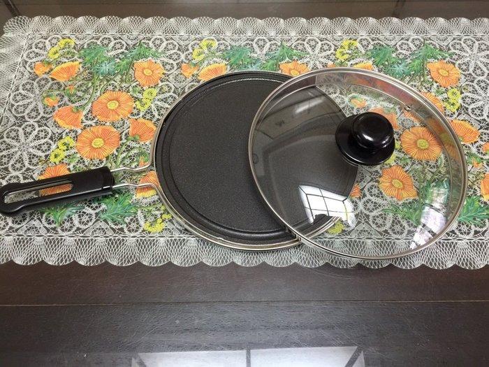 水蒸式健康燒烤蒸煮盤,幫媽媽升級 全新-(炭烤盤+蓋子)