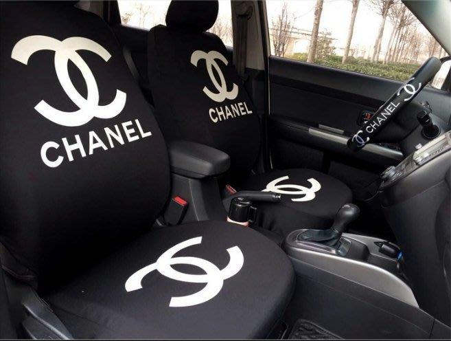克羅心汽車座套全包圍四季通用加厚汽車座椅套個性潮牌圖案汽車坐墊套