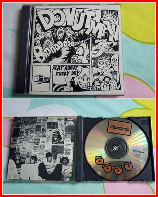 ◎1998年-日版-搖滾團體-Donut man–Play About Every Day-等6首好歌◎CD-Donut