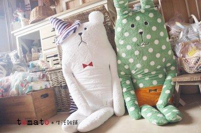˙TOMATO生活雜鋪˙日本進口雜貨CRAFTHOLIC萬聖節限定款南瓜兔子幽靈熊布偶(L)