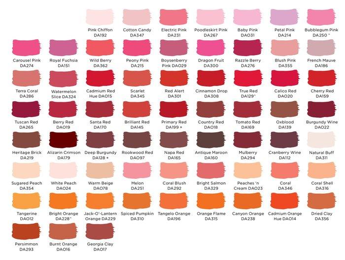 淘淘樂 丨DecoArt美國風Americana進口壓克力顏料DA顏料丙烯 紅橙/滿200發貨/多件可優惠