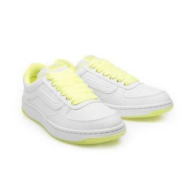 CHIEF' VANS 日版 FLOATER 黃色 皮革 舒適 運動休閒鞋 女孩限定款 sz4.5~7.5