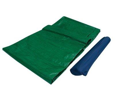*大營家帳篷睡袋*DJ-6608 防水PE地鋪300*300~附營釘~可鋪在帳篷底~