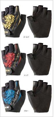 【欣の店】SUNLINE STG-310(5本)5指 釣魚手套 紅/藍/黃