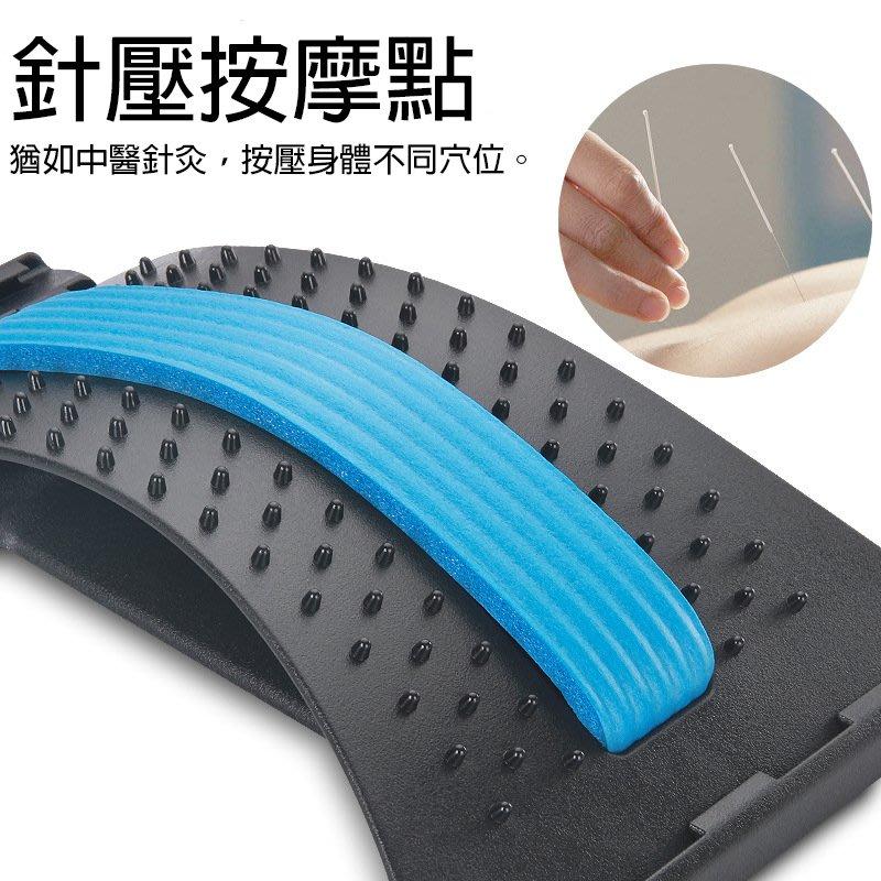 【促銷】腰椎按摩拉伸器 針灸款 3 色 伸展 紓壓 舒緩按摩 按摩穴道 脊椎拉伸舒緩架 滿額免運