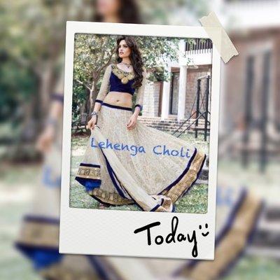 12. 特製蘭咖秋麗 Lehenga Choli 印度舞衣莎麗紗麗 寶萊塢明星款 Saree Sari