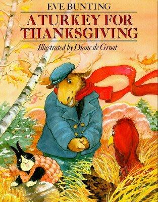 *小貝比的家*A TURKEY FOR THANKSGIVING /平裝/3~6歲/感恩節