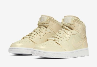 日本代購 Air Jordan 1 Mid Lemon Yellow CK6587-200 女鞋(Mona)