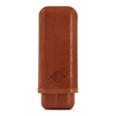 【英國James Purdey & Sons】Oak Bark Leather 皮革雪茄盒 便攜式雪茄盒 手工英國製