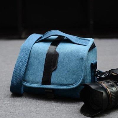 奧林巴斯佳能尼康微單相機包鬆下三星微單反包長焦單肩數碼攝影包