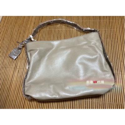 現貨🇭🇰香港代購Rabeanco #83910 精選天然平滑牛皮 HAIL 新月型單肩袋