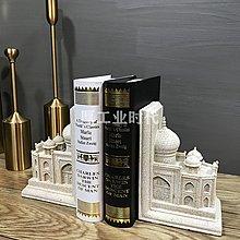 歐式簡約城堡書檔家居裝飾品書房酒櫃辦公室桌面擺設樣板間軟裝