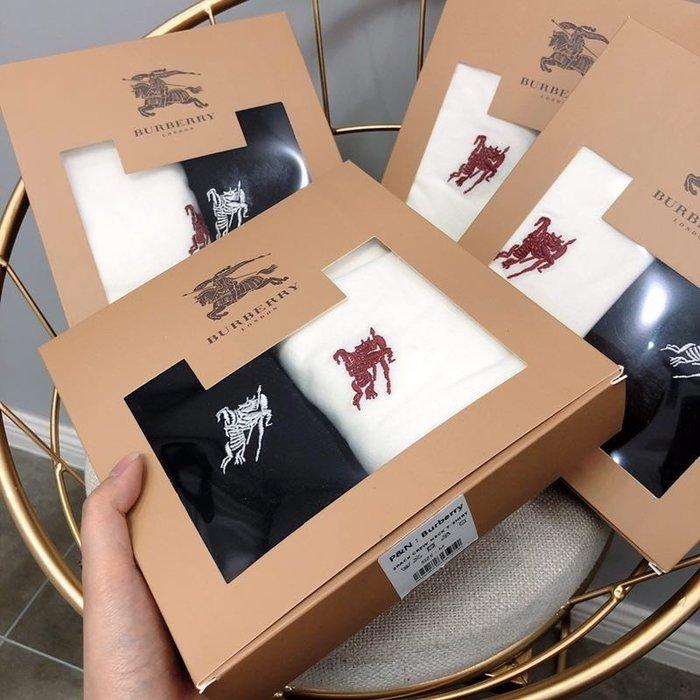 Chris精品代購 美國Outlet Burberry巴寶莉 春夏新款 短袖 T恤 明星同款 兩件禮盒裝要買要快賣完為止