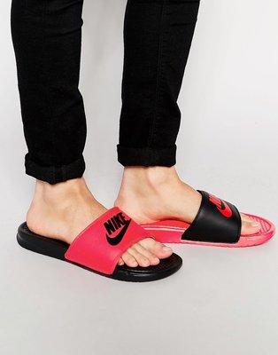 ☆LION販殼☆Nike Benassi JDI Mismatch Slide 情侶拖鞋 nike拖鞋 陰陽鴛鴦拖鞋