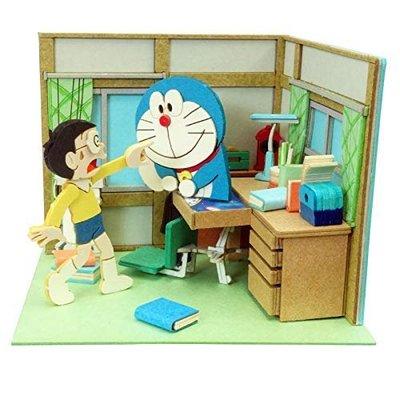 日本正版 Sankei 哆啦A夢 mini 紙模型 需自行組裝 MP08-01 日本代購
