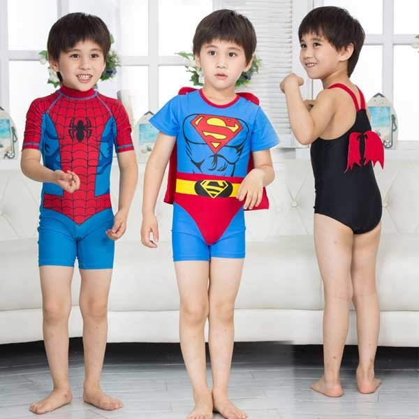 5Cgo【鴿樓】會員有優惠 520331434660 兒童泳衣男童男孩泳褲韓國連體分體泡溫泉游泳衣寶寶嬰兒防曬泳裝