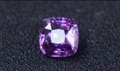 國際GGTL天然無燒1.83克拉艷彩紫色藍寶石裸石 粉紅剛玉 鑽石 祖母綠 金綠玉貓眼 紅寶石 墜子 戒指
