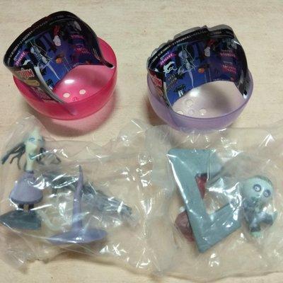一起售 YUJIN 迪士尼 扭蛋聖誕夜驚魂 絕版 公仔 玩具