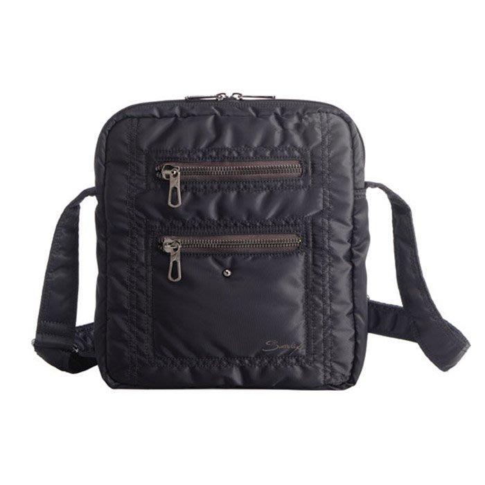 【SUMDEX】NOD-697黑色 時尚休閒包-直立側背包