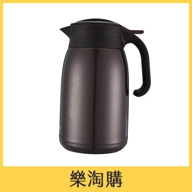 TIGER 1600cc 提倒式不鏽鋼保溫熱水瓶 保溫壺 保溫瓶 虎牌 PWM-B160 咖啡色