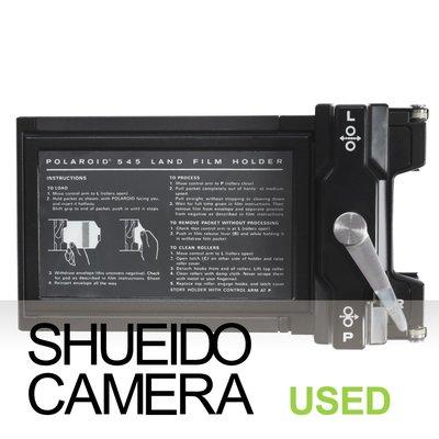 集英堂写真機【全國免運】中古良品 POLAROID MODEL 545 4x5 拍立得片盒 片夾 大型相機用 21128