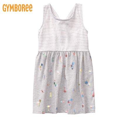 正品現貨✈Gymboree 美國進口・女童裝 小洋裝 無袖洋裝 連身裙 - 經典橫條紋-海灘好時光