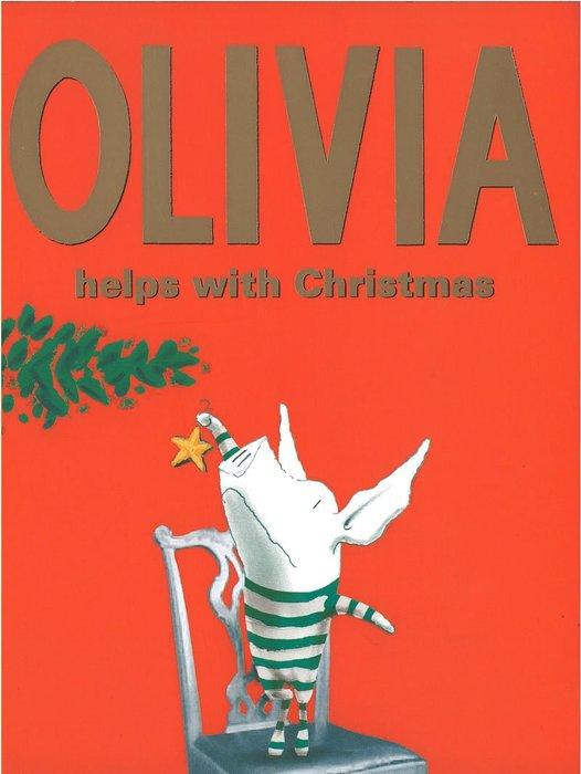 *小貝比的家*OLIVIA HELPS WITH CHRISTMAS/平裝/聖誕節