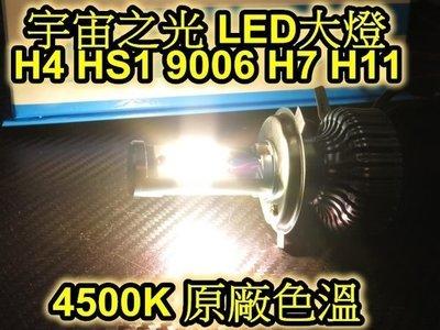 晶站 嚴選 LED大燈 H4 HS1 9006 H7 H11 規格 35W 原廠光 4500K 新勁戰 NEW fighter RSzero 彪琥