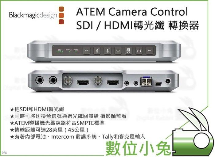 數位小兔【BlackMagic ATEM Camera Control 轉換器】公司貨 SDI / HDMI轉光纖