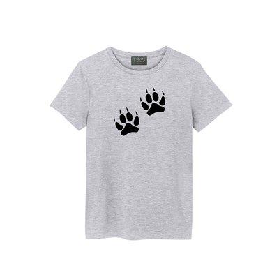 T365 腳印 足跡 足印 痕跡 03款 T恤 男女皆可穿 多色同款可選 短T 素T 素踢 TEE 短袖 上衣 棉T