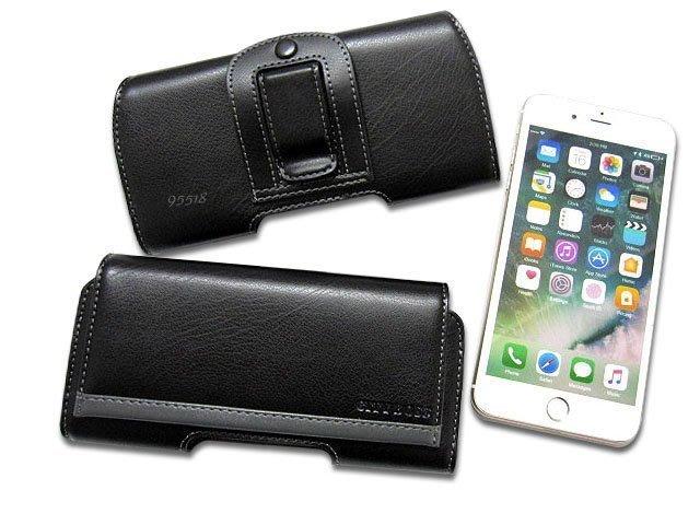 小米 Xiaomi 紅米 Note 7 真皮 橫式腰掛手機皮套 腰掛式皮套 腰掛皮套 腰夾皮套 手機套 A02