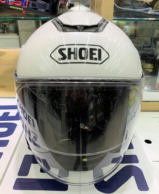 二手好帽《鼎鴻》SHOEI  J-Cruise  3/4半罩式 安全帽  珍珠白