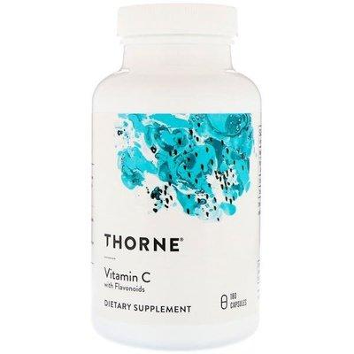 Thorne Research,維生素C,柑橘生物類黃酮,180粒(明星品牌,美國原廠)*百合麻雀*