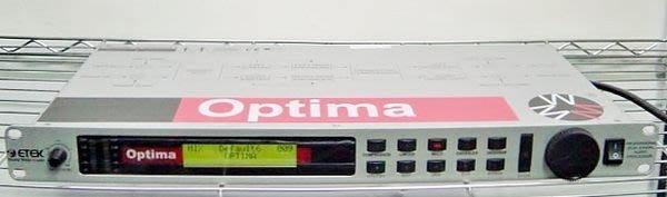 【小劉2手家電】OPTIMA PROFESSIONAL 24 bit DIGITAL AUDIO PROCESSOR音效處理器