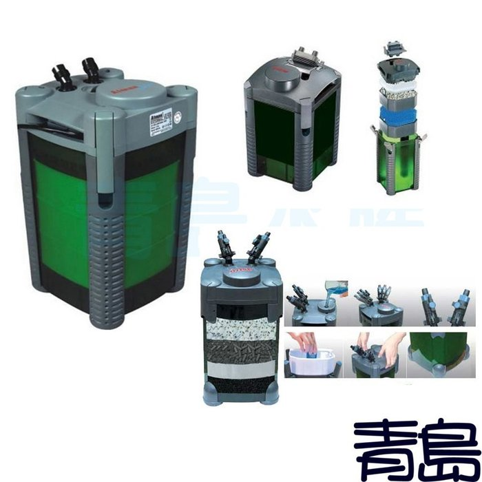 A。。。青島水族。。。KW401211中國ASTRO阿姆斯壯-----二代圓桶過濾器==2206