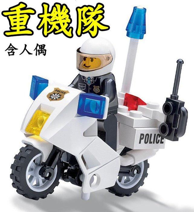 【方舟積木】⭐特警重機隊(含人偶)⭐警察 特戰 軍事 特勤 反恐 積木人偶 益智創意 鑽石微型