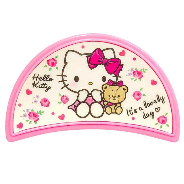 41+ 現貨不必等 正版授權 Hello Kitty半月造型鯊魚夾 MT-795KT 白 黑 粉   my4165